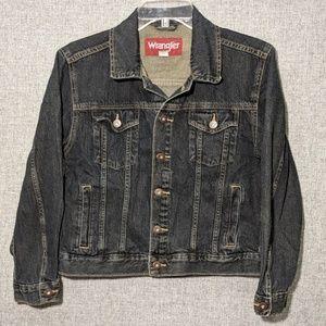 Wrangler Dark Blue/Black Jean Jacket
